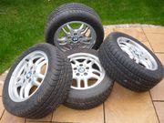 Leichtmetallfelgen mit Reifen BMW