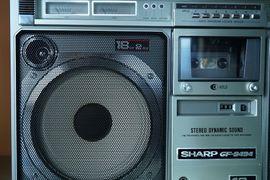 SHARP gf-9494 Ghettoblaster: Kleinanzeigen aus Freital - Rubrik Radio, Tuner