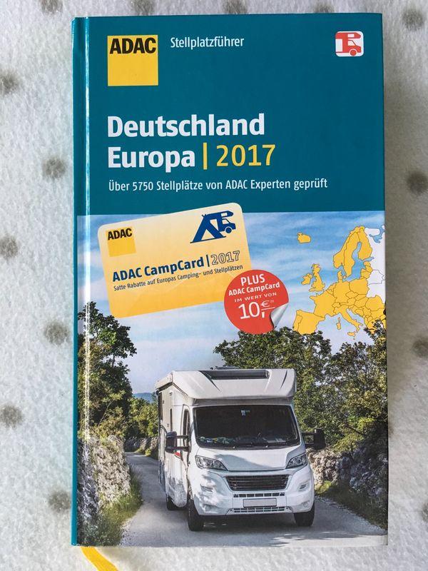 Stellplatzführer ADAC Deutschland Europa Nord