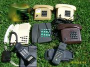 Alte Telefone von der Österreichischen