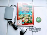 Animal Crossing Spiel incl Wii