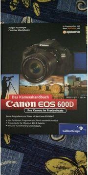 Canon eos 600D Kamerahandbuch
