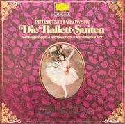 Peter Tschaikowsky-die Ballett-Suiten-Schwanensee-Dornröschen Karajan Lp