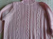 Vintage Strickpullover Longpullover Rollkragenpullover Gr