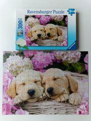Ravensburger Puzzle Süße Hunde im
