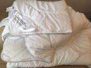 Übergangs-Steppbett Bettdecke Übergröße 155x220 cm