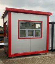 Bürocontainer Wohncontainer Pförtnercontainer Büro Wache Pförtnerhaus