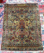 Antiker Seidenteppich Saruk Sarugh um