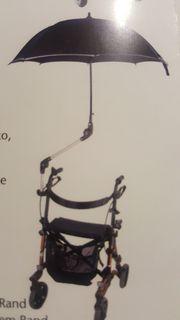 Schirm für Rollator Rollstuhl oder