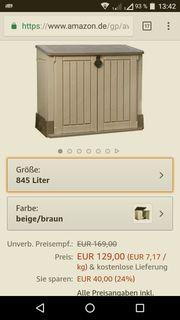 Gerätebox Mülleimerbox