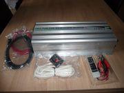 Sinus Hochleistungs-Wechselrichter 2000 Watt Max
