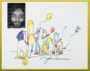 Kunstwerk JOHN LENNON Collage mit