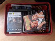 DVD-Player Korb mit DVD s