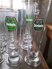 Neuwertig 60 DIEBELS Gläser Altbier