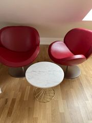 2 Leder Sessel Designed by