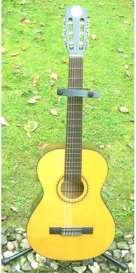 Gitarren/-zubehör - Schöne 3 4 Konzertgitarre klassische