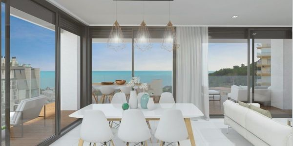 Spanien - Calpe - Neubauappartements mit Blick