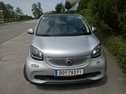 smart forfour passion Navi Faltdach