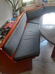 Eckbank und 4 Esszimmerstühle aus