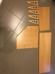 Wandboard Holz Buche Wandbrett Ablage