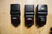 Nikon Speedlight SB-24 SB-25 Set