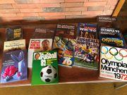 Fußball-Bücher Olympia-Bücher Sachbücher etc