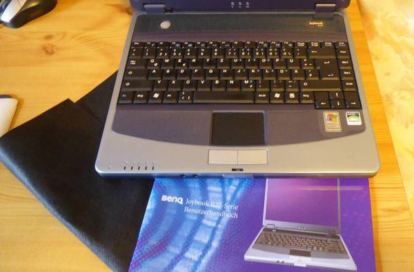 Laptop BenQ Joybook R22E mit WIN 7 Home Premium