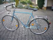 Peugeot Herren Sporttourenfahrrad Rennrad blau