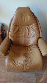 Sessel aus Leder Marke-Stressless