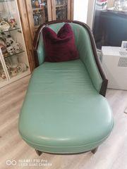 Neuer grüner Leder Lounge