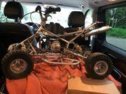 Quad Aktionbike mit Verbrennungsmotor voll