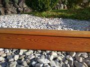 Vorhangstange Holz rustikal