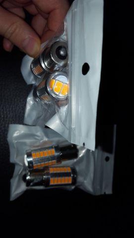 Zubehör und Teile - Auto LED Lampen Orange 4