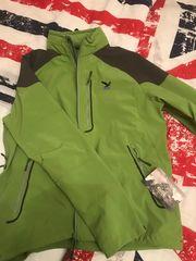 Salewa Softshell Jacke in grün