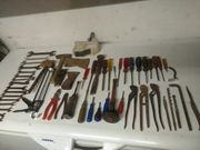 Altes Werkzeug Gabel Schlüssel