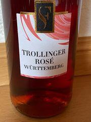 Trollinger ROSE Württemberg Süß Fruchtig