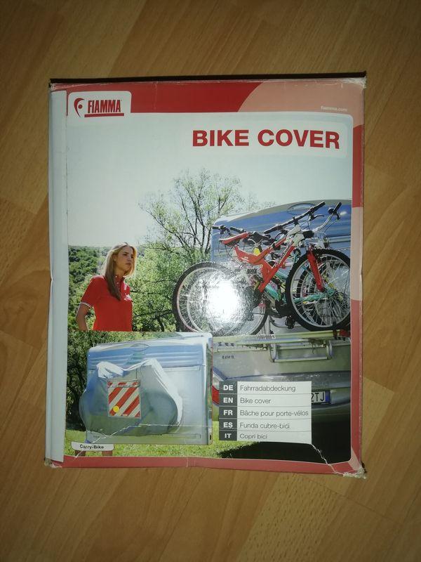 Fahrradschutzhülle für Wohnmobil