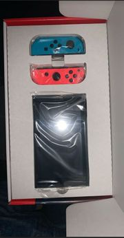 Nintendo switch neon rot blau