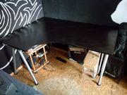 Schreibtisch schwarz Galant Ikea