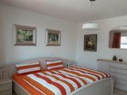 Schlafzimmer komplett Doppelbett großer Schrank