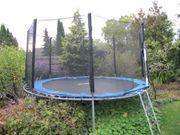 Gartentrampolin 366cm gebracht für 15EUR