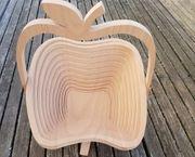 Orginelle Holzschale