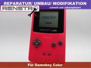 Reparatur Service Gameboy Color IPS