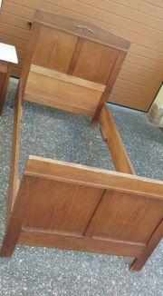 Antikes Bett Ehebett Jugendbett