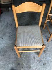 3 Stühle zu verschenken