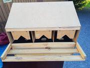 Nestplatz für Kleinhühner