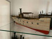 Carette Flussdampfer 46 cm Dampfantrieb