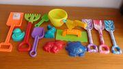 Verschiedenes Sand - Spielzeug - Teile