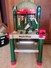 Kinderwerkbank Bosch Klein Workshop TOP