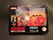 SNES Doom original Pal Version